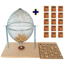 Bingo Profissional Nº 4 Mega Gigante 75b + 1.500 Cartelas