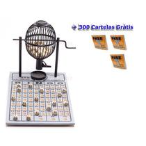 Bingo Profissional Treis Reis N° 1 Completo Com 300 Cartela