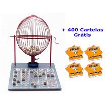Jogo De Bingo 75 Bolas Grande Nº3 Com 400 Cartelas Iv