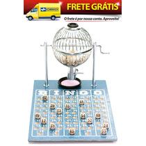 Jogo De Bingo 75 Bolas Pequeno Nº1 Com 400 Cartelas Icf