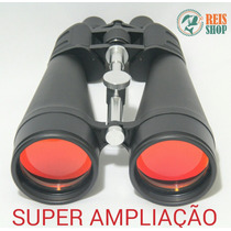 Binóculo Profissional 180x360 C/ Adaptador - Super Ampliação