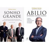 Sonho Grande + Biografia Abilio Diniz (2 Livros Novos)