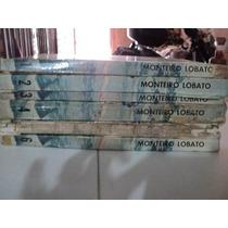 Livro Monteiro Lobato Coleçao 6 Volumes Frete Gratis ##