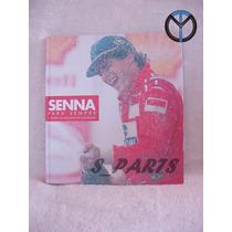 Ayrton Senna Para Sempre 20 Anos Shell Livro Comemorativo