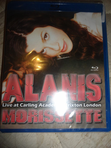 Blu-ray Alanis Morissette - Live At Carling Academy Lacrado