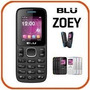 Celular Blu Zoey Mp3 2chips Bluetooth Câmera Flash Completo!