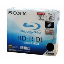 Mídia Blue-ray 50gb Sony Bd-r 1-4x Original.