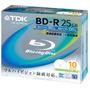 10 Mídias Blu-ray Bd R 25gb Tdk Original Printable