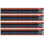 Pacote C/ 100 Mídia Blu Ray Gravável 25gb 6x Emtec Estojo