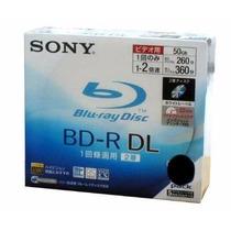 5 Sony Bluray Bd-r Print 50gb Blu-ray Frete Grátis