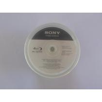 50 Mídias Bluray Sony Printable 25gb Bd-r 4x