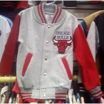 Jaqueta Chicago Bulls Infantil Tam 2 4 6 8 10 Pronta Entrega