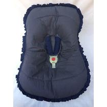 Capa Para Bebê Conforto - Marinho Poá