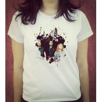 Babylook Camiseta Estampada Paramore Hayley Williams