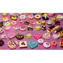 Kit De 5 Miniaturas Comida P/ Boneca Barbie Blythe * Re Ment