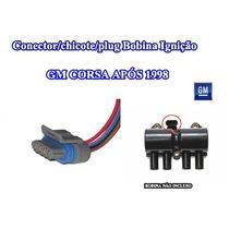 Conector/chicote/plug Bobina Ignição 4 Fios Gm Corsa