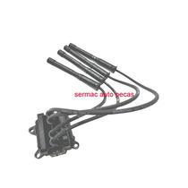 Bobina Ignição 206 Clio Twingo Kangoo 1.0 16v Gasol - Ign208
