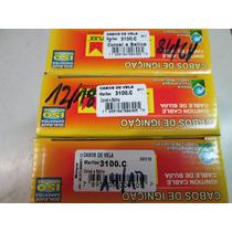 Lote Com 3 Jogo Cabos De Vela Comum Corcel Marflex 3100c