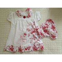 Vestido Bebê Lilica Repilica Estampado 18 Meses, Pouco Uso
