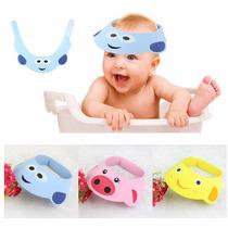 Chapéu Para Banho Bichinhos Protetor Olhos E Ouvidos Criança