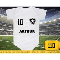 Body Ou Camiseta Times Botafogo Brasileiro Personalizado