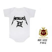 Body Infantil Bandas Famosas De Rock N