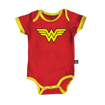 Body Infantil Dc Comics Wonder Woman - Bandup!