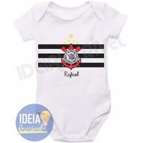 Body Infantil - Bebê Corinthians - Timão