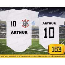 Body Corinthians Timão Gaviões Temos Camiseta Infiantil