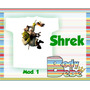Body / Camiseta Shrek - Fiona - Gato De Botas - Burro