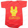 Homem De Ferro Ironman Bebe De Ferro Baby Iron Body Infantil