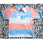 Camiseta Estampa Cachorro Kyly Menino Tamanho 1 Azul E Rosa