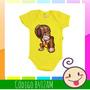 Body Infantil Donkey Kong Donk Macaco Bebê Nenem Geek