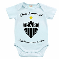 Body Infantil - Atleticano Igual Ao Papai
