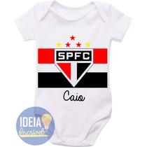 Body Infantil - Escudo Do São Paulo