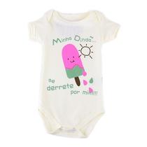 Body Dinda Derretida Menina (curto Ou Longo) - Baby Fun