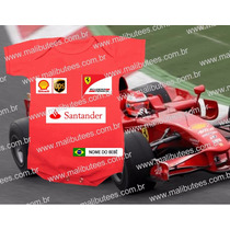 Ferrari F1 Body Infantil Formula F1 Corrida Carros Escuderia