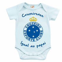 Body Infantil - Cruzeirense Igual Ao Papai