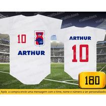 Body Ou Camisetas Times Parana Brasileiro Personalizado