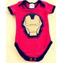 Body Fantasia Homem De Ferro Bebê Infantil