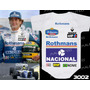 Ayrton Senna Body Infantil Corrida F1 Ayrton Senna Williams