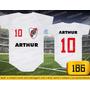Body Ou Camisetas Times River Plate Argentina Personalizado
