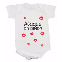 Body Frases - Ataque Da Dinda - Madrinha - Beijos
