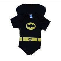 Body Batman Com Capa Festa De Mêsversário Do Bebê, Fantasia