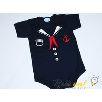 Roupa De Bebê Marinheiro Body De Marinheiro Bebê