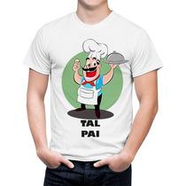 Kit Camiseta Pai E Body Filho Chef De Cozinha Tal Pai Filho