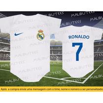 Body Real Madrid Cristiano Ronaldo 7 Time Futebol Espanhol