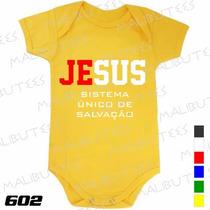 Body Evangélico Gospel Jesus S.u.s. Infantil Bebê