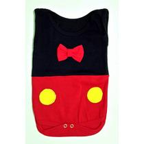 Body Do Mickey - Para Bebê - Desenho - Personagem - Disney
