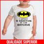 Body Bebê Batman Super Herói Bodies Filmes Menino